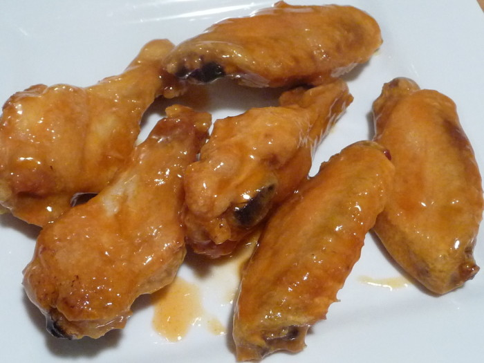 Crystal Wing Sauce Wings