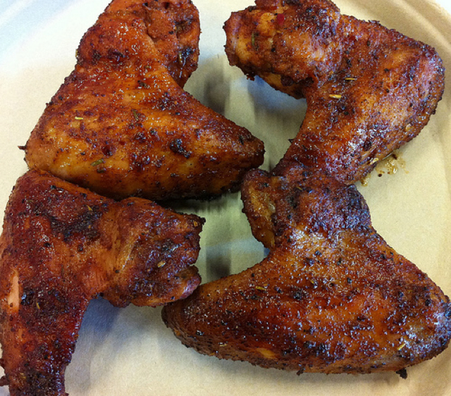 Santa Maria and Old Bay seasoned wings recipe