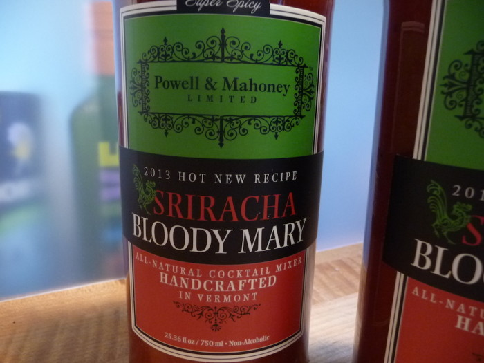Powell & Mahoney Sriracha Bloody Mary Mix Label