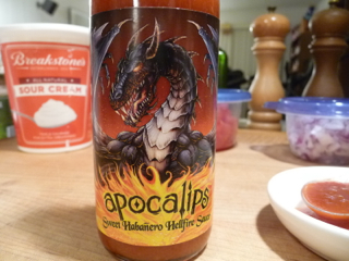 Apocalips Sweet Habanero Hellfire Sauce
