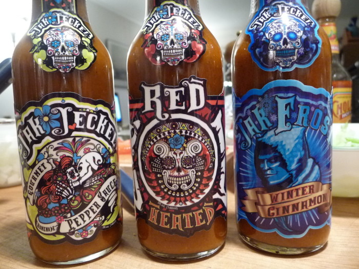 Jak Jeckel Trio of Hot Sauces
