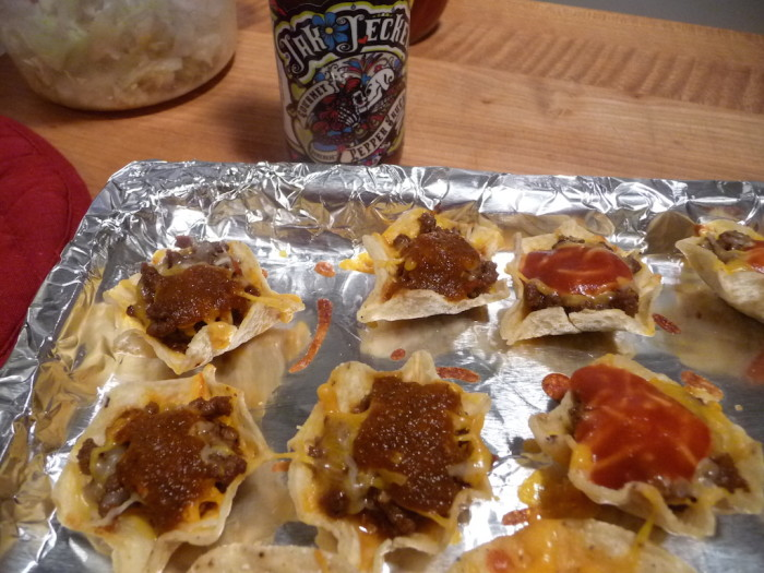 Jak Jeckel Original on nachos