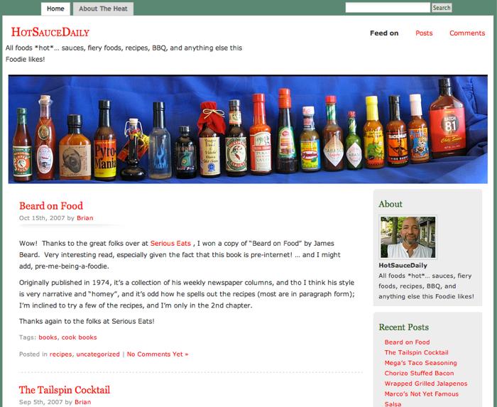 HotSauceDaily 2007