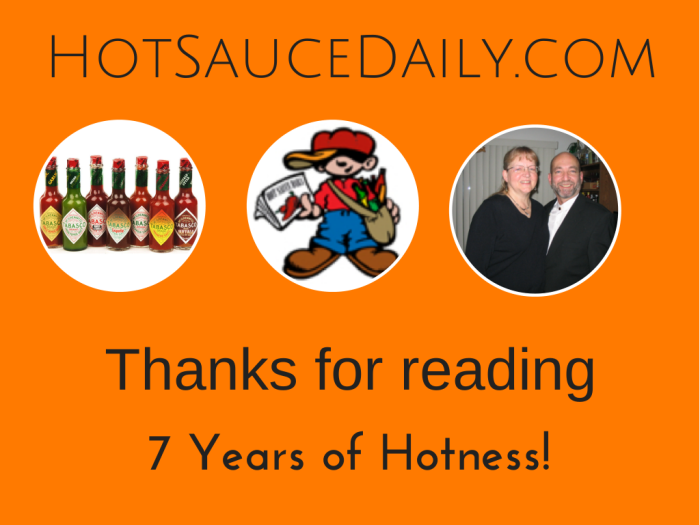 HotSauceDaily.com turns 7 years old