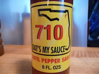 710 Dat's My Sauce Datil Pepper Sauce Review