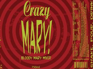 Crazy Mary Bloody Mary Mix