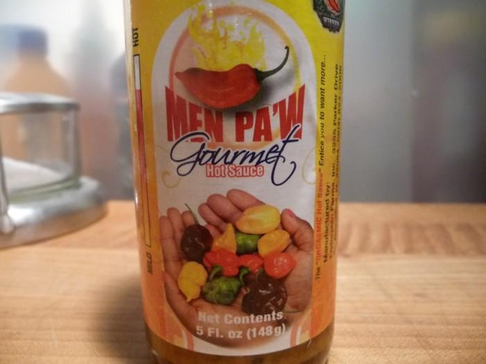 Men Paw Gourmet Hot Sauce