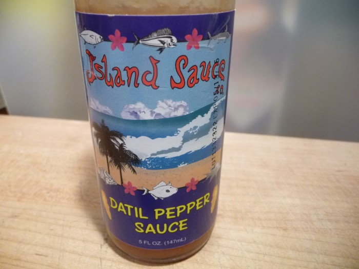 Island Sauce Company Datil Sauce Label