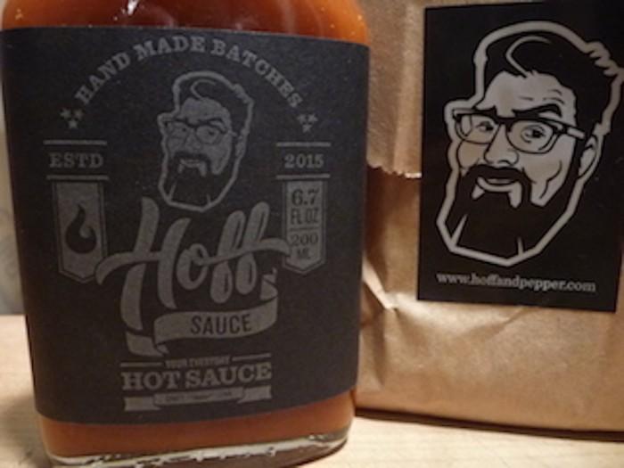 hoff sauce in brown wrapper