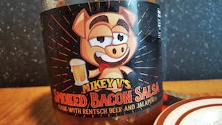 Mikey V's Smoked Bacon Salsa