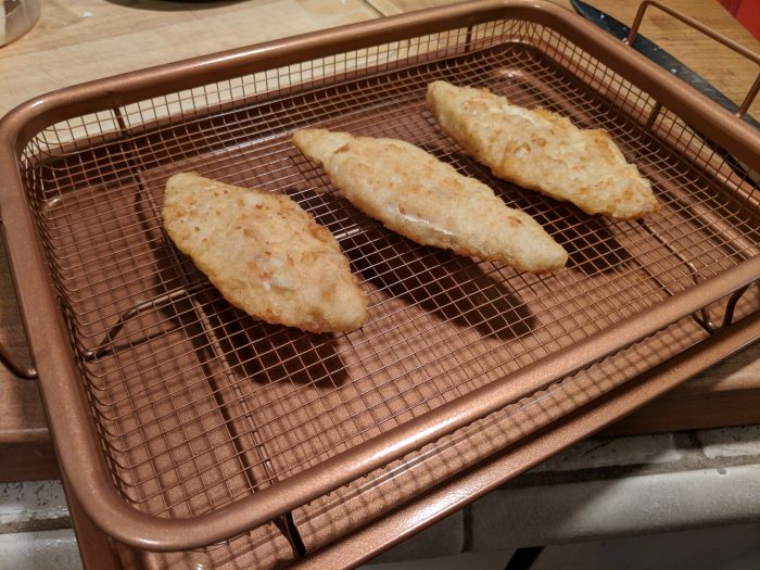 Fish Fillets baking