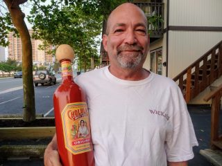 Brian with Giant Cholula