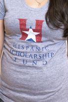Shirt - T-Shirt - American Apparel - Distressed - Grey - Women