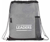 YLS - Bag -Gray Drawstring - Young Leaders Summit
