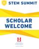 "SIgn - Coroplast - 22"" x 28"" - STEM - Scholar Welcome"