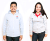 Sweatshirt - American Apparel - Zipper Hoodie - Grey - Coed