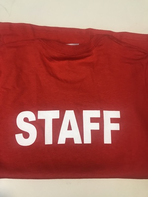 Shirt - T-Shirt - Bella - Staff - Red - Women