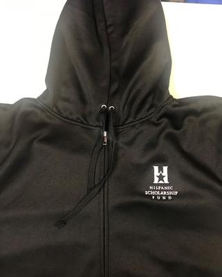 Sweatshirt - Black Poly Tech Hoodie - Co - ed