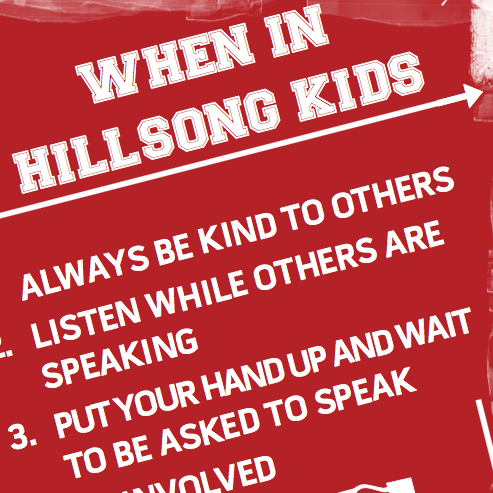 When In Hillsong Kids Poster