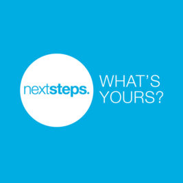 Next Steps | Floor Sticker 2m
