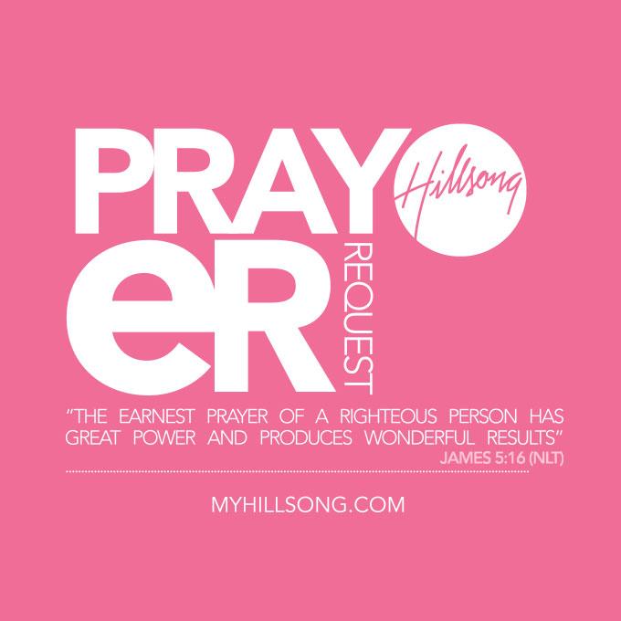 Sisterhood Prayer Request Form