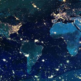 Night Lights World Screen Images