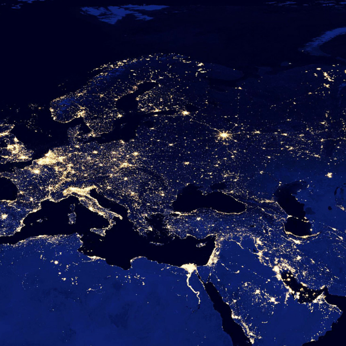 Night Lights Eurasia Screen Images