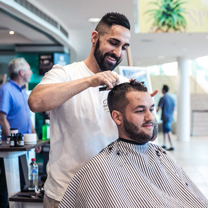 Father's Day Barber Shop