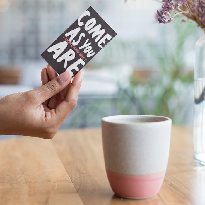 Invitation Card | Come As You Are