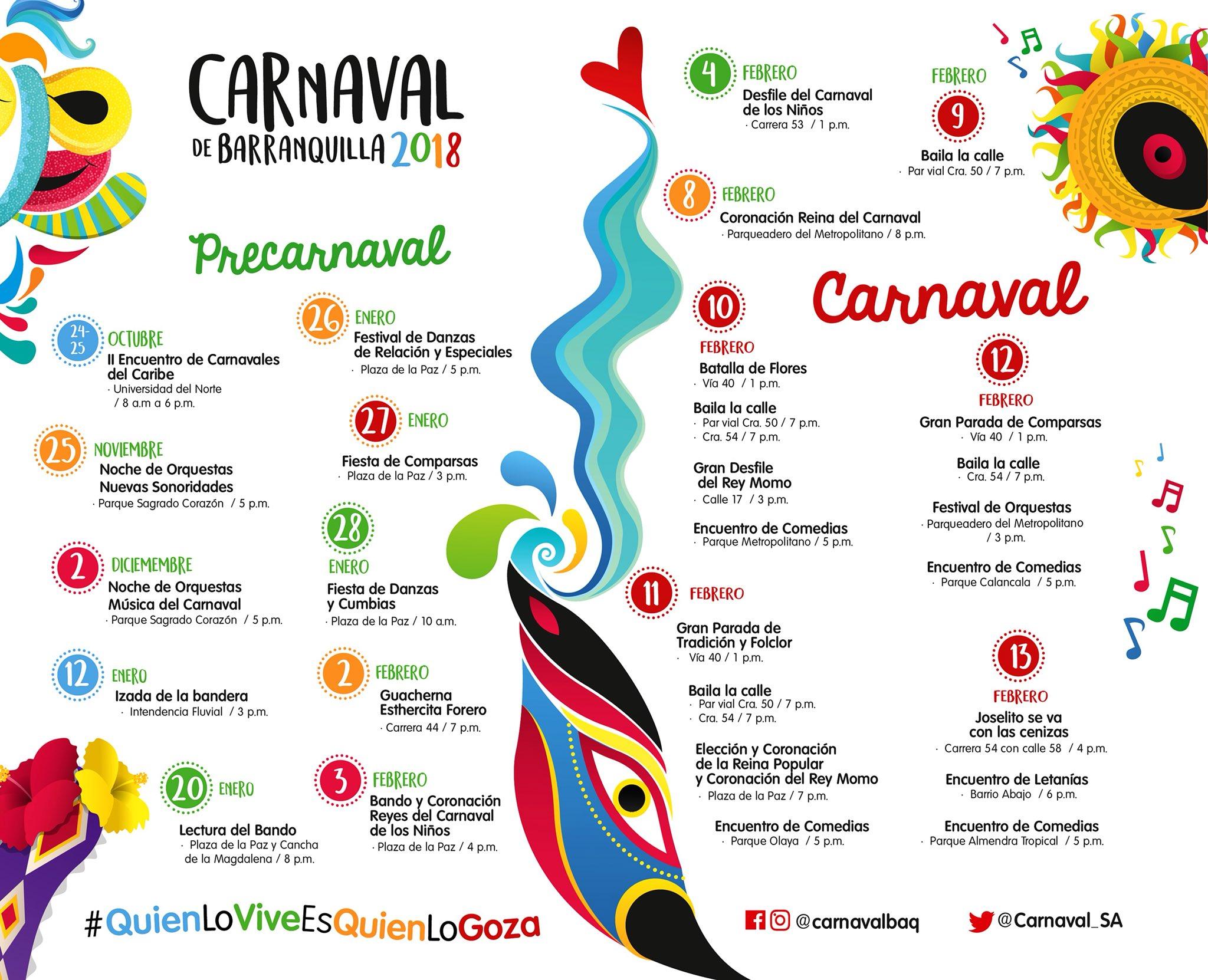 Carnaval De Barranquilla 2018 Barranquilla Atlantico