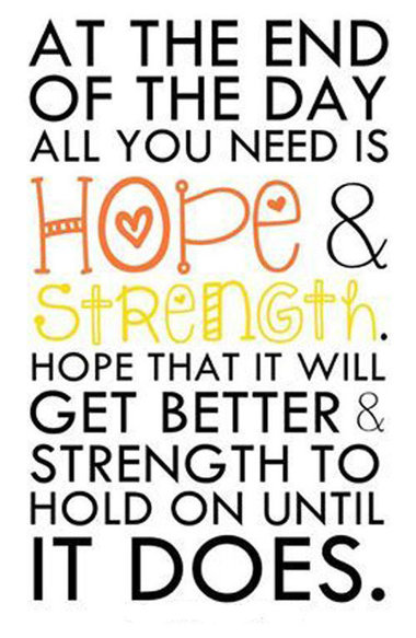 Hope strength quote