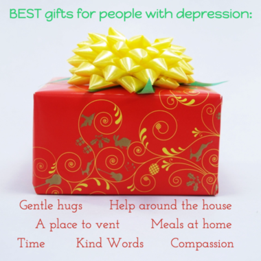 Gifts depression homemade quote