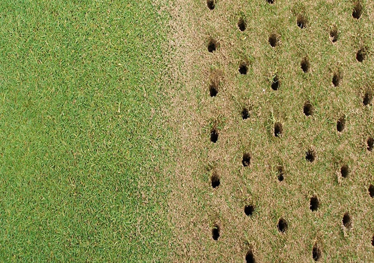 soil aeration