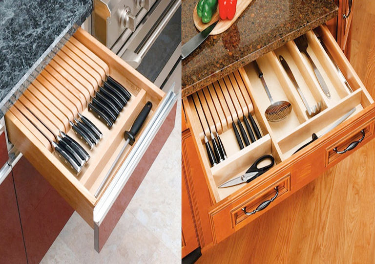 Pull-out Knife Block