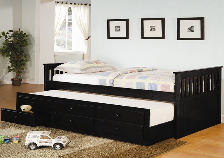 hideaway trundle beds