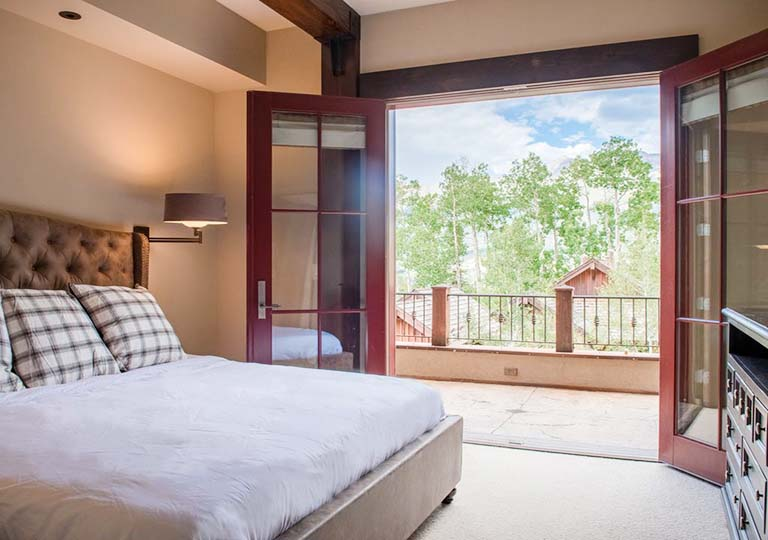 Master Bedroom Balcony