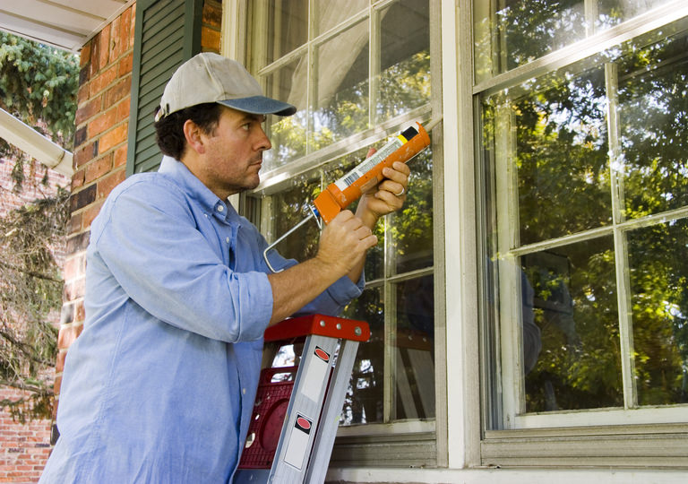 Hire a handyman to draught-proof your doors, windows and other small openings.