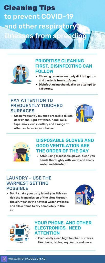 Cleaning tips to prevent COVID-19 spread
