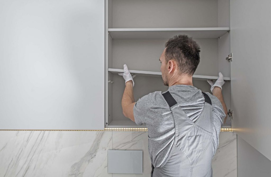 Wall-Mount a Cabinet
