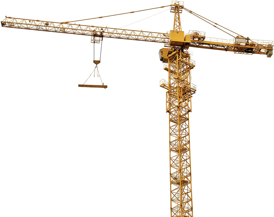 Tower crane and its parts : Crane interactive extra