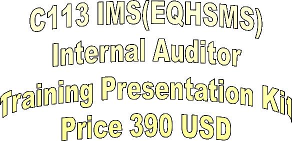 iso 9001 internal auditor training ppt