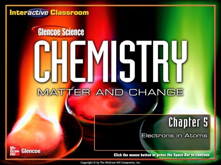 glencoe chemistry matter and change teacher edition free download