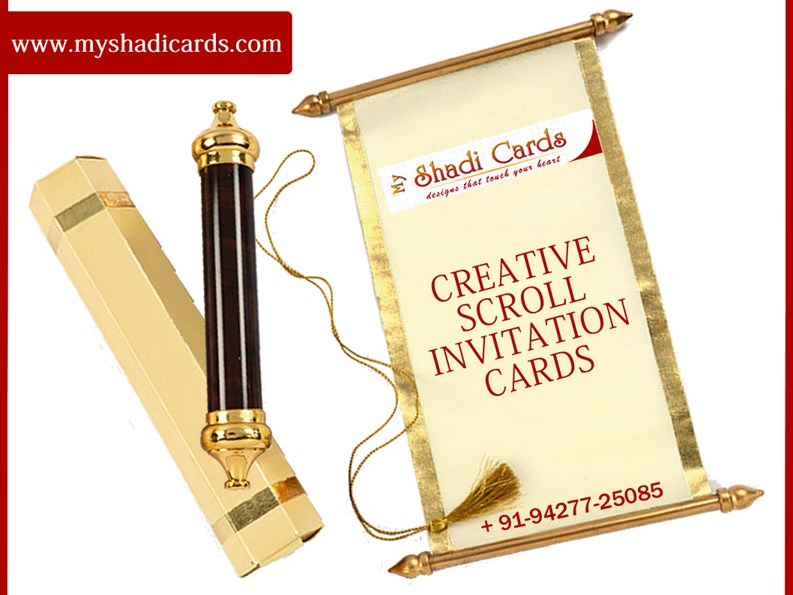 PPT – Order Scroll Invitations PowerPoint presentation | free to download - id: 6b174e-MzNlY