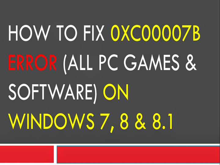 PPT – How to fix error 0x00007B PowerPoint presentation