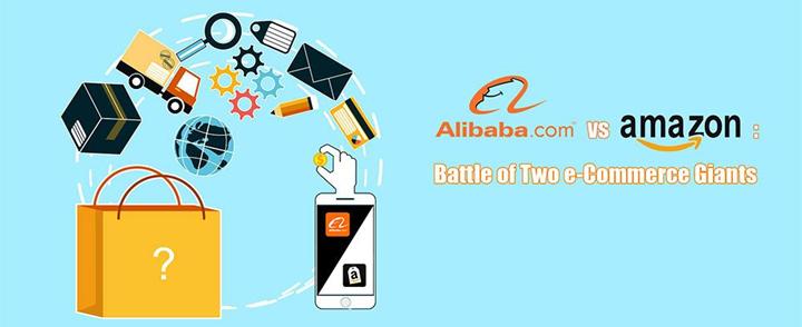 Ppt Alibaba Vs Amazon A Battle Of Two E Commerce Giants