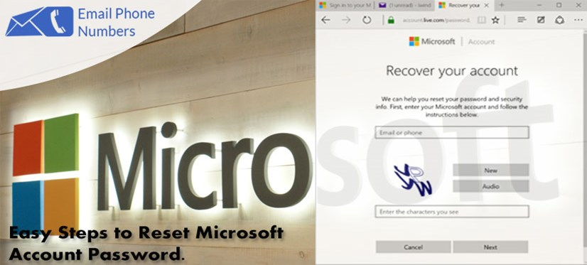 ppt easy steps to reset microsoft account password powerpoint