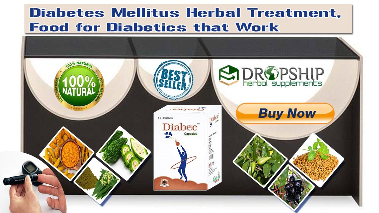 Ppt Diabetes Mellitus Herbal Treatment Food For Diabetics