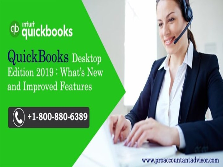 PPT – QuickBooks Desktop 2019: What's New and Improved PowerPoint
