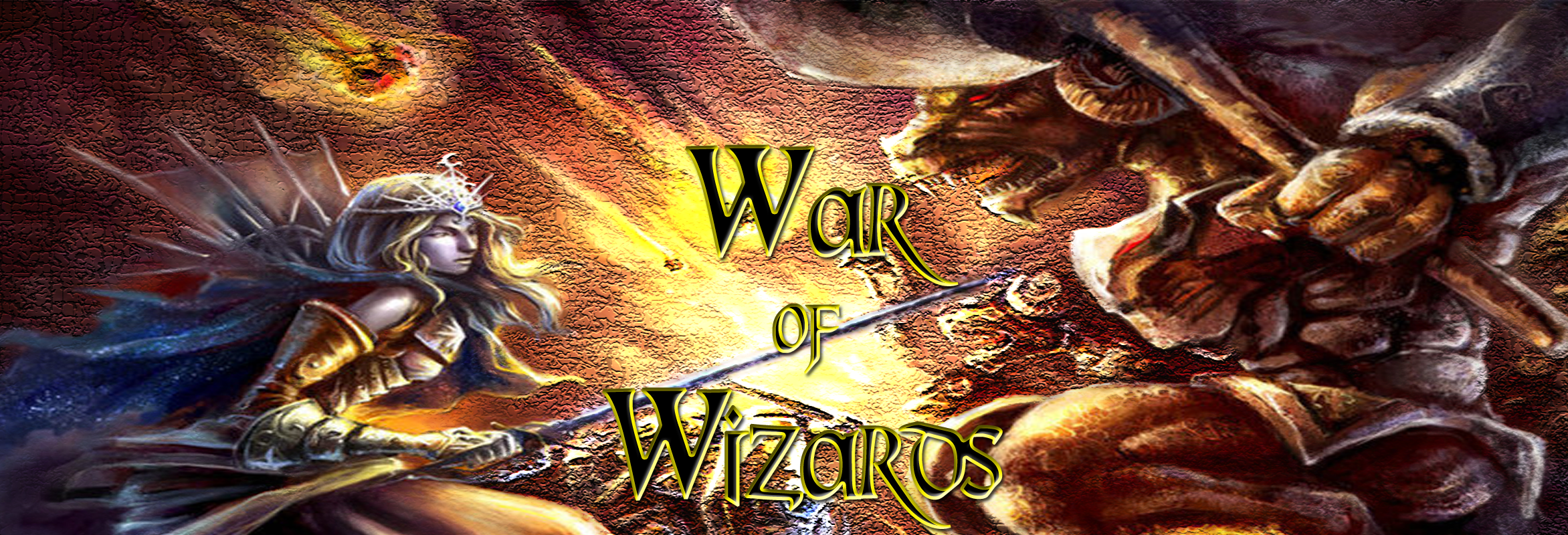 Banner Ad Design by Lara Puno - Entry No. 32 in the Banner Ad Design Contest Banner Ad Design - War of Wizards (fantasy game).