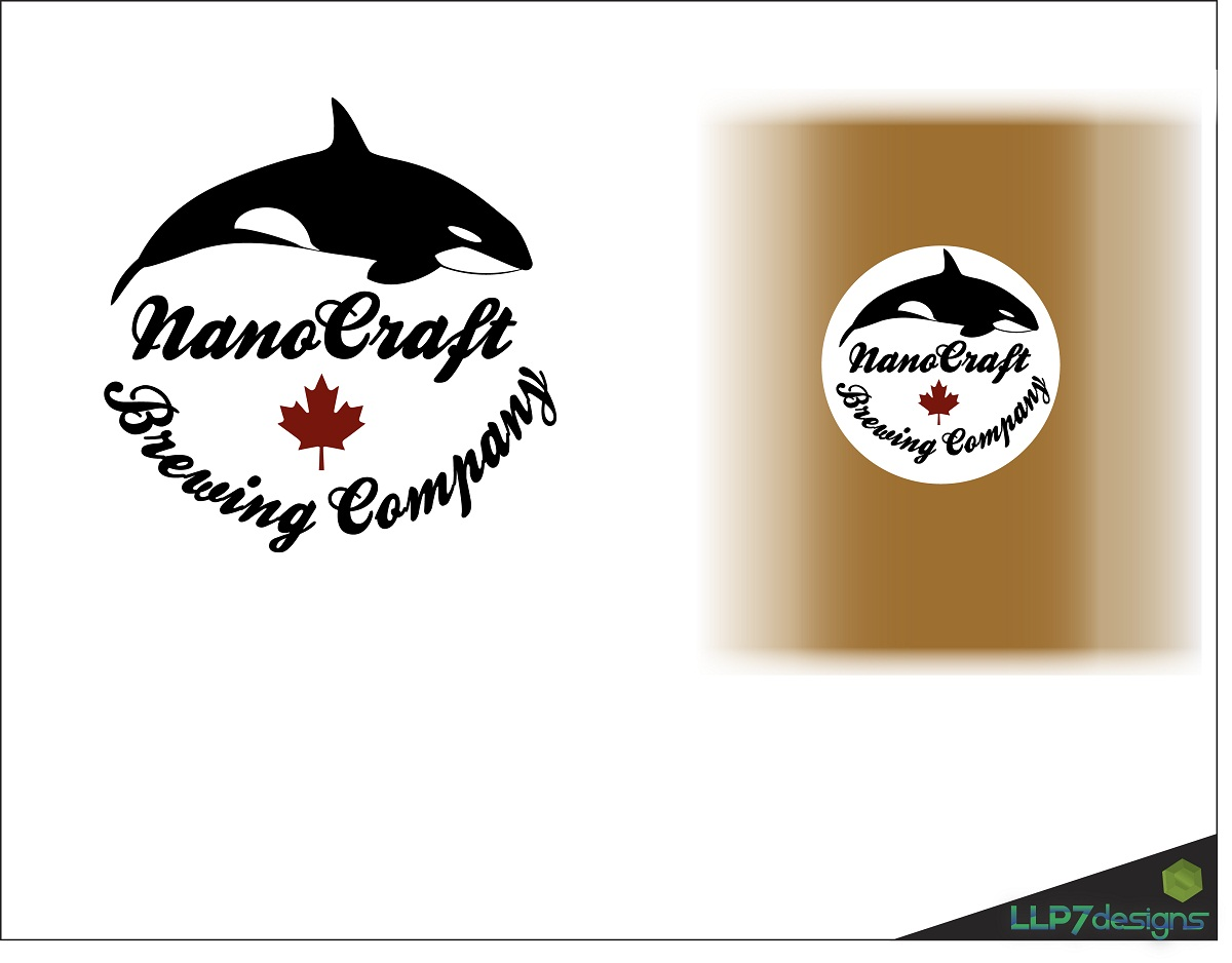 Logo Design by LLP7 - Entry No. 24 in the Logo Design Contest Unique Logo Design Wanted for NanoCraft Brewing Company.